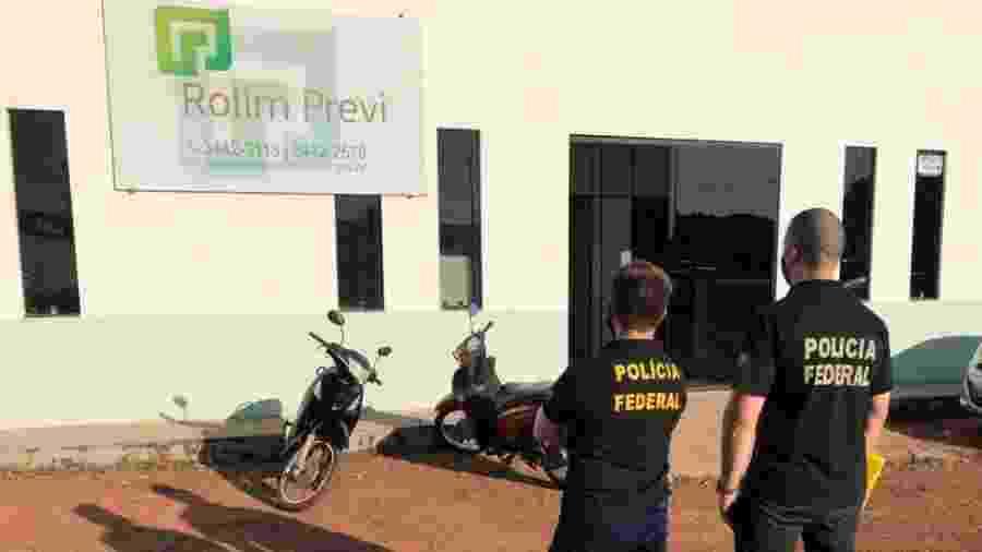 Operação Fundo Fake da PF investiga fraudes em fundos previdenciários de Rondônia - Divulgação/Polícia Federal