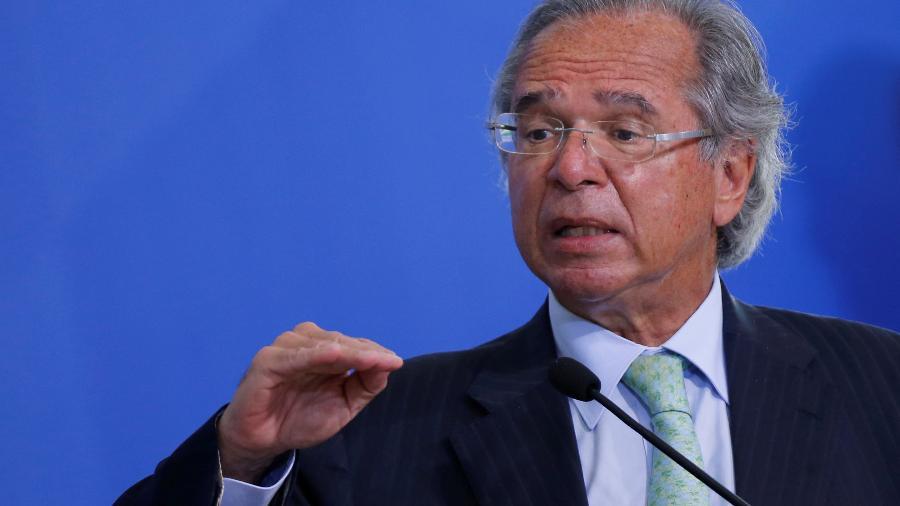 Ministro da Economia, Paulo Guedes, que defende o teto de gastos - ADRIANO MACHADO
