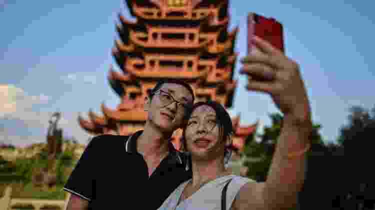 O governo de Hubei anunciou em agosto que cerca de 400 pontos turísticos da província seriam abertos a visitantes de todo o país gratuitamente, sendo a Torre do Grou Amarelo um deles - Getty Images - Getty Images