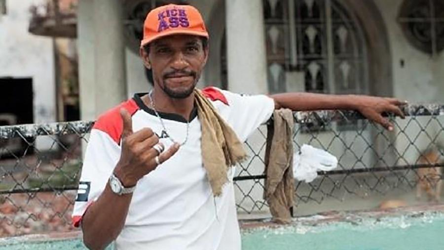 Alexsandro da Conceição, acusado e preso por furtar uma bicicleta que não estava com ele no Recife - Maria Eduarda Andrade