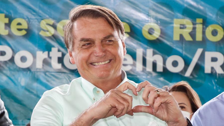 Jair Bolsonaro e alvo de mais uma notícia-crime no STF pela defesa do uso da cloroquina em tratamento contra covid - Anderson Riedel/Presidência da Rep´´ubl