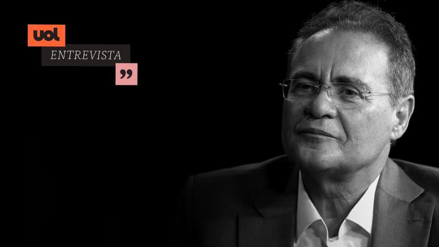 UOL Entrevista com Renan Calheiros - Arte/UOL