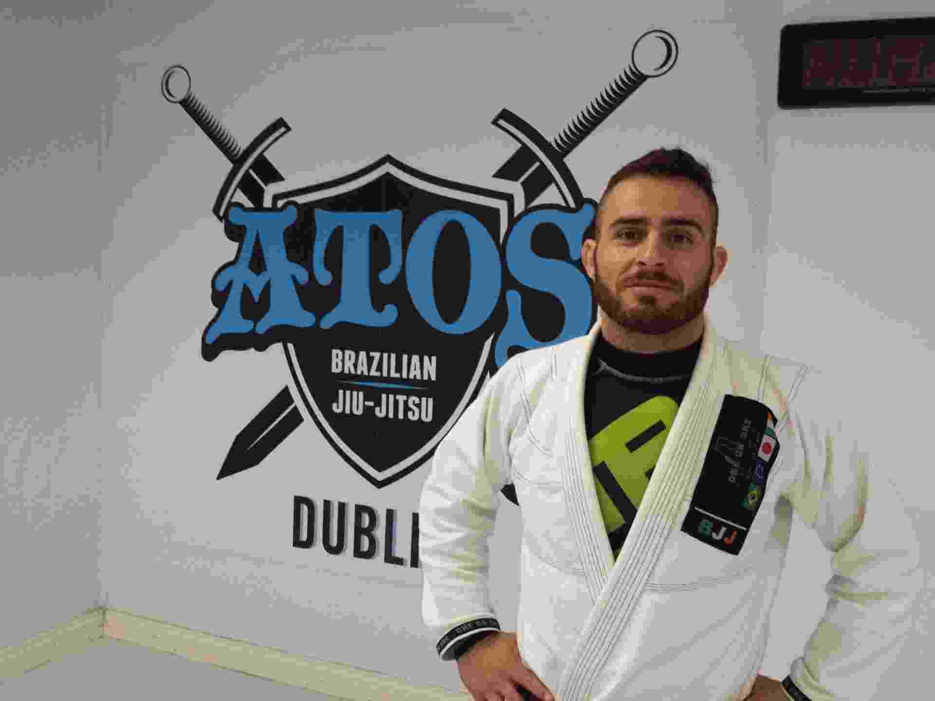 Academia Jorge Santos de jiu-jitsu na Irlanda - Flávio Carneiro/UOL