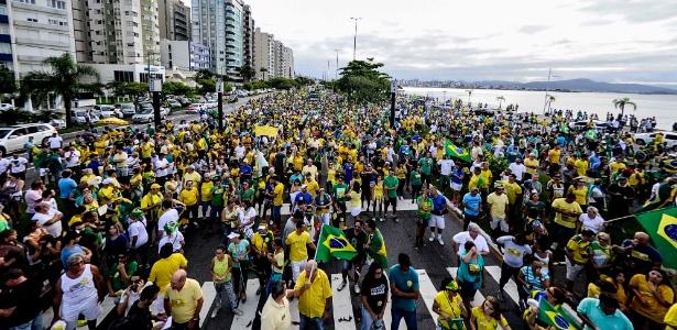 95 mil foram às ruas de Florianópolis, estima PM - Eduardo Valente/Agência Estado