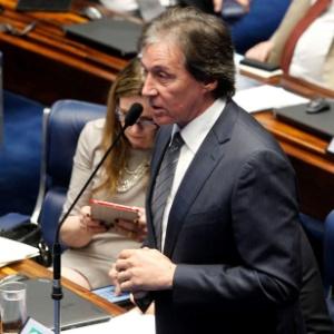 O senador Eunício Oliveira