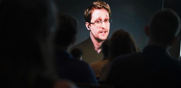 O ex-funcionário da NSA (Agência Nacional de Segurança, dos EUA) Edward Snowden