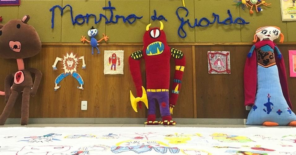 A Bololofos cria bonecos inspirados em desenhos de crianças. Ela também tem a linha Monstro da Guarda, feita pelo casal de publicitários Graziella Poffo, 36, e Thiago Espeche, 34, sócios da empresa
