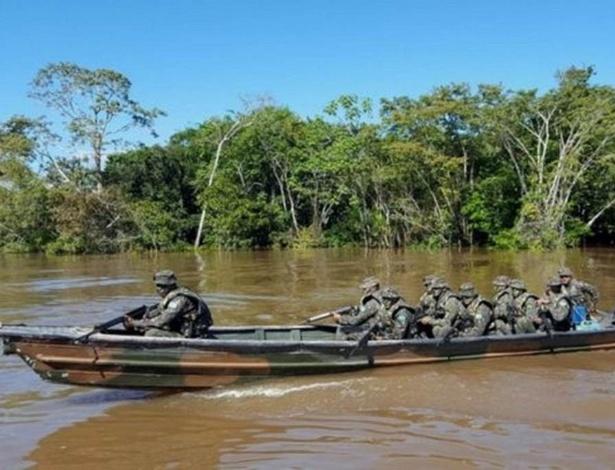 Se todos os barcos do Exército fossem colocados na água ao mesmo tempo, cada um teria uma área de 45 km para vigiar