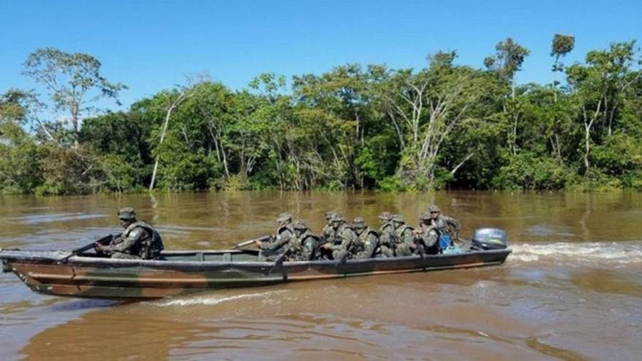 Exército tenta controlar entrada de cocaína na Amazônia - Felipe Souza/BBC Brasil
