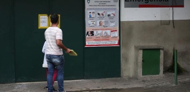 Desde o início de abril, apenas atendimentos de urgência e emergência estão sendo feitos no Hospital São Paulo