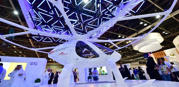 Táxi voador pode entrar em funcionamento em cinco anos em Dubai