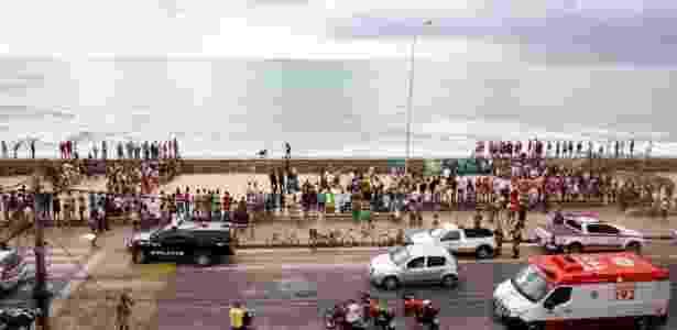 Acidente com Globocop no Recife nesta terça (23) deixa dois mortos e uma pessoa gravemente ferida - Marlon Costa/Futura Press/Estadão Conteúdo - Marlon Costa/Futura Press/Estadão Conteúdo