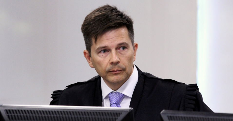 Leandro Paulsen, desembargador da 8ª Turma do Tribunal Regional Federal da 4ª Região, durante julgamento do ex-presidente Lula em Porto Alegre