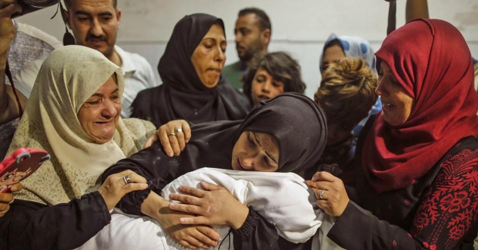 Família lamenta morte de bebê de 8 meses, afetado pelos gases lacrimogêneos