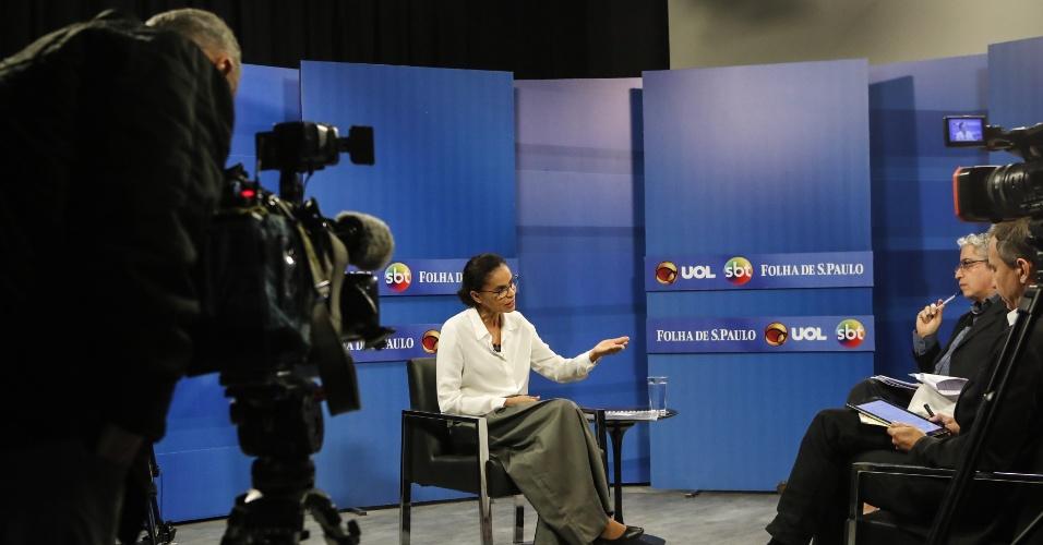 Marina Silva, candidata da Rede à Presidência