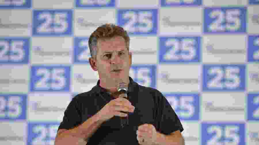 Mauro Mendes (DEM) fala durante evento  - Mauro Mendes/Facebook/Divulgação