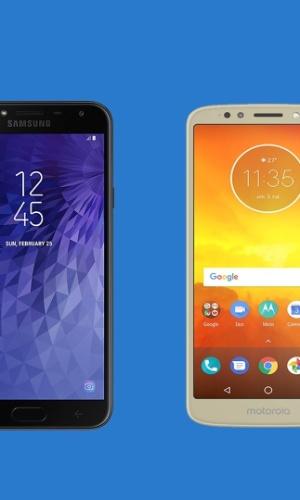 Samsung Galaxy J4 x Moto E5