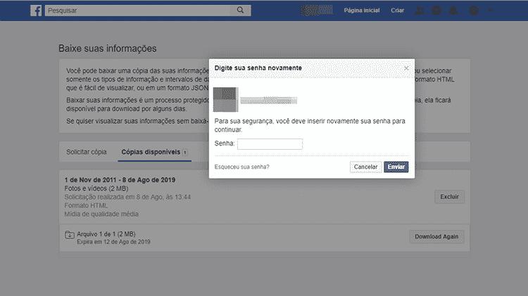 Regate de fotos do Facebook 6 - Facebook/Reprodução - Facebook/Reprodução