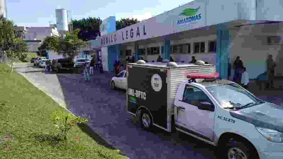 Fachada do Instituto Médico Legal (IML) de Manaus - Neto Silva