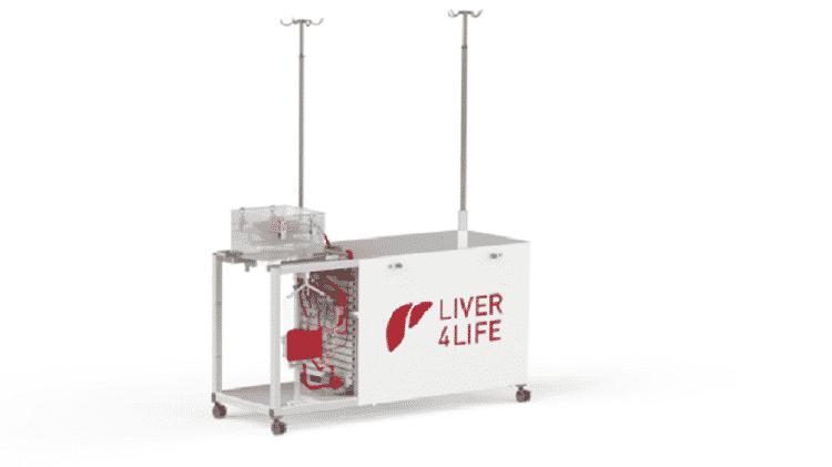 O aparelho Liver4Life - Reprodução/ Wyss Zurich - Reprodução/ Wyss Zurich