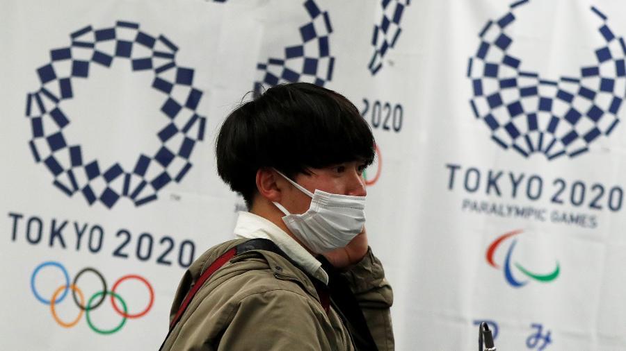Atletas não serão forçados a receber vacinação contra a covid-19 antes da Olimpíada de Tóquio - ISSEI KATO