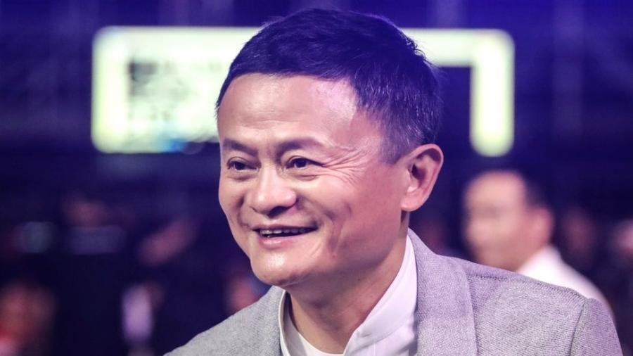 Co-fundador do Grupo Alibaba, Jack Ma - Getty Images