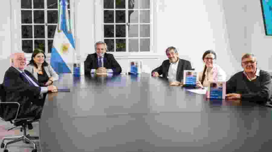 Meta do país é realizar 200 mil testes por mês - Casa Rosada/Divulgação