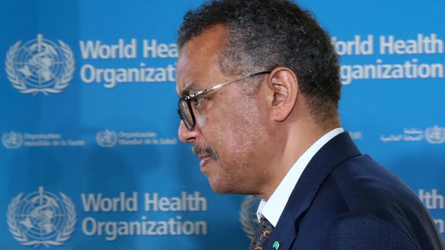 Diretor-geral da OMS, Tedros Adhanom Gebreyesus, fez um alerta para a desigualdade na distribuição de vacinas contra a covid-19 - Reuters