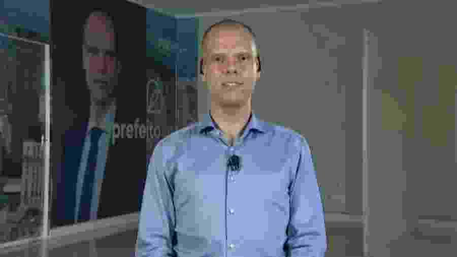 Bruno Covas participa de entrevista no SB¨T - Reprodução/SBT
