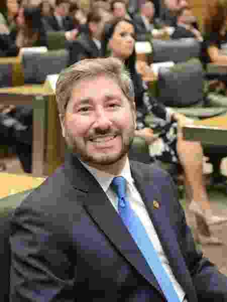 O deputado estadual Fernando Cury (Cidadania), acusado de assédio sexual a Isa Penna - Arquivo Agência Alesp - Arquivo Agência Alesp