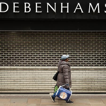 Arquivo - As lojas de departamento Debenhams irão fechar suas portas no Reino Unido - Oli Scarff/AFP