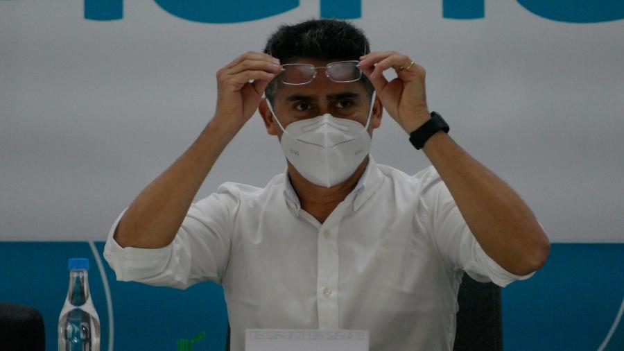 Arquivo -  O único prefeito citado no documento é David Almeida (Avante), de Manaus, cidade em que a rede de saúde entrou em colapso no início do ano - Sandro Pereira/Fotoarena/Estadão Conteúdo