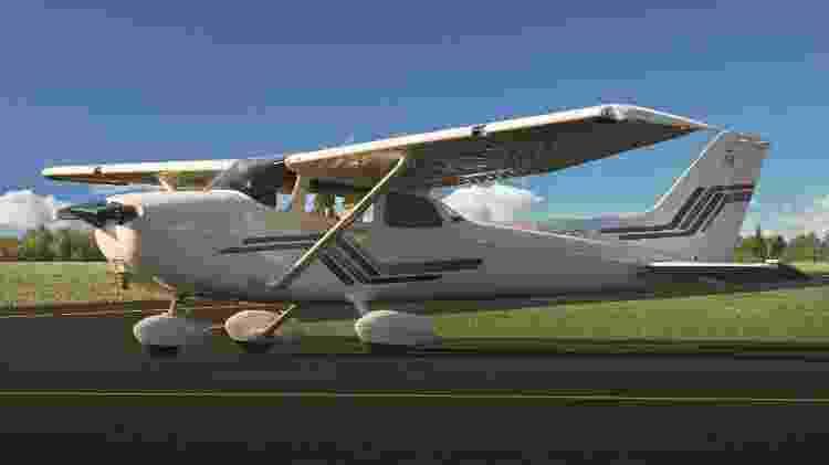 Em produção desde 1956, já foram mais de 44 mil unidades produzidas do Cessna 172 - Divulgação - Divulgação