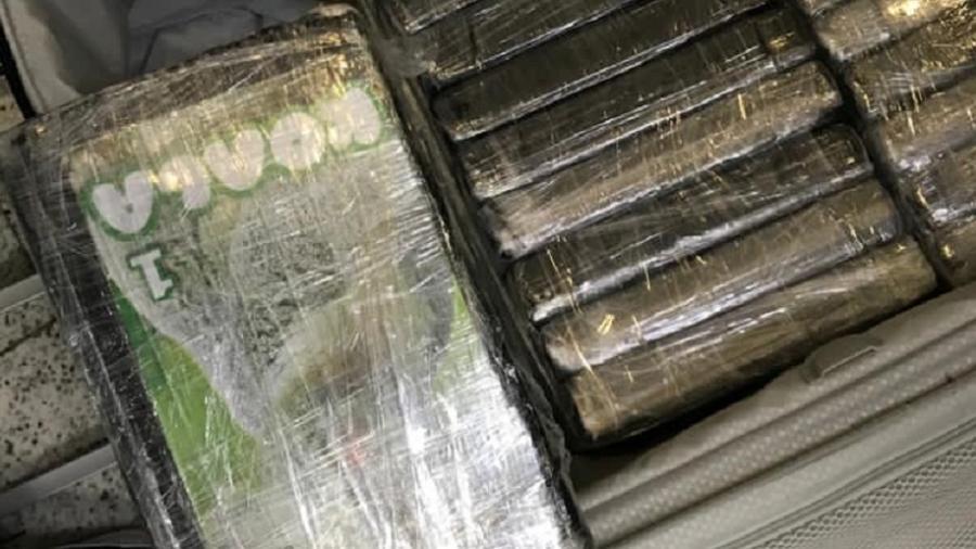 18 mai. 2021 - Polícia Federal deflagra operação contra o tráfico internacional de drogas no Aeroporto de Guarulhos - Divulgação/PF