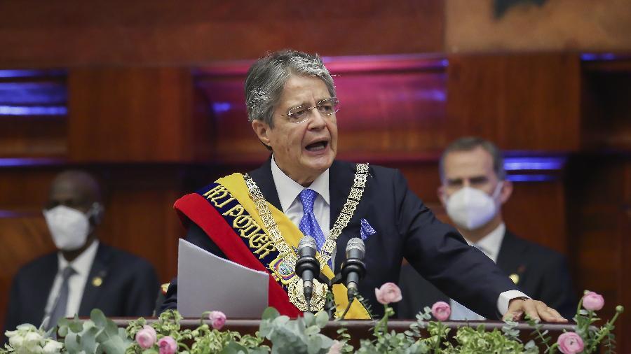 Presidente do Equador, Guillermo Lasso, é um dos líderes latino-americanos com contas offshore - Xinhua/Assembleia Nacional do Equador