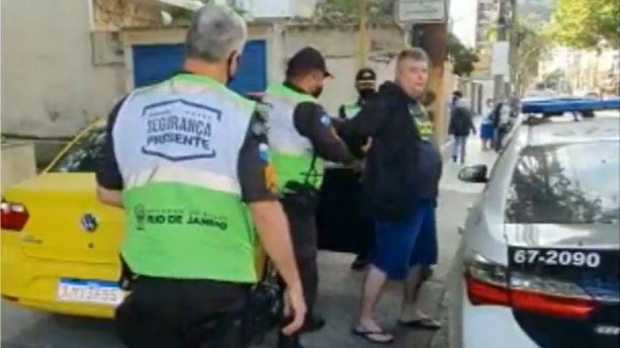 Taxista aplica golpe em cliente e é preso no Rio de Janeiro - Reprodução/Instagram