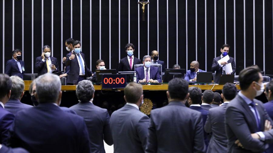 Deputados federais em sessão no plenário da Câmara dos Deputados, em Brasília - Cleia Viana/Câmara dos Deputados