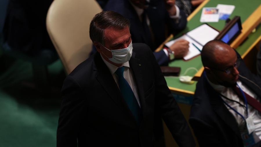 Bolsonaro encontra-se em isolamento no Palácio da Alvorada após contato com Queiroga, diagnosticado com covid-19 - Tayfun Coskun/Anadolu Agency