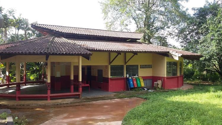 A escola indígena da Aldeia do Bananal - Arquivo pessoal - Arquivo pessoal