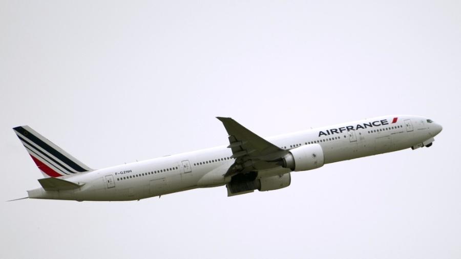 Boeing 777 da Air France - Fred Dufour/AFP