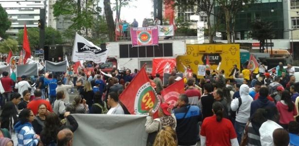 Manifestantes se concentram para Grito dos Excluídos em SP - Wellington Ramalhoso/UOL