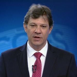 O prefeito Fernando Haddad (PT)