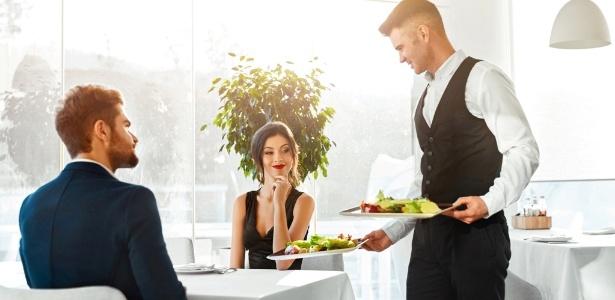 atendimento em restaurante