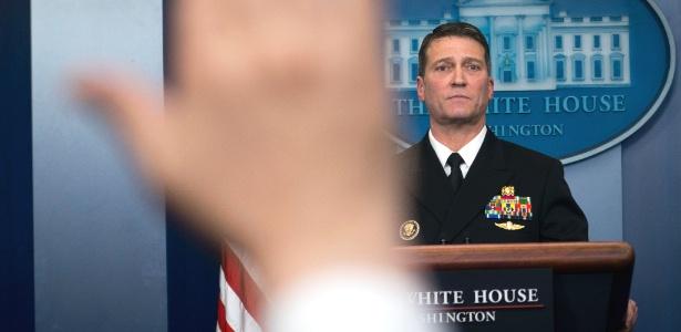O médico presidencial, Ronny Jackson - Doug Mills/The New York Times