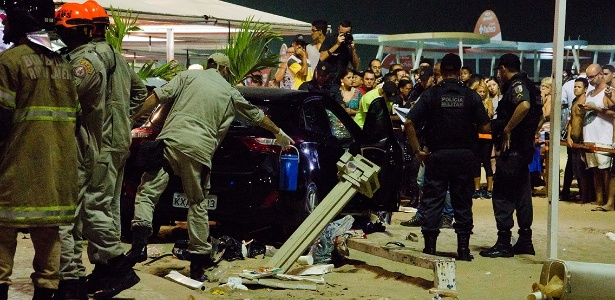 Atropelamento no calçadão da praia de Copacabana matou um bebê e feriu 16 pessoas