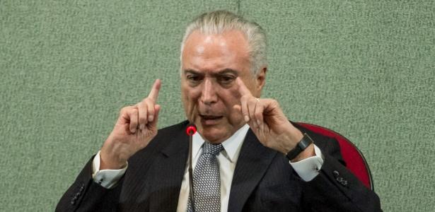 Temer justificou que a diferença entre o que foi pedido e o que foi liberado não pode ser bancado pela União - MARIVALDO OLIVEIRA/CÓDIGO19/ESTADÃO CONTEÚDO