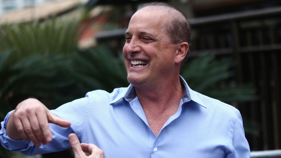 29.out.2018 - O deputado federal Onyx Lorenzoni (DEM- RS), futuro ministro da Casa Civil - Fábio Motta/Estadão Conteúdo
