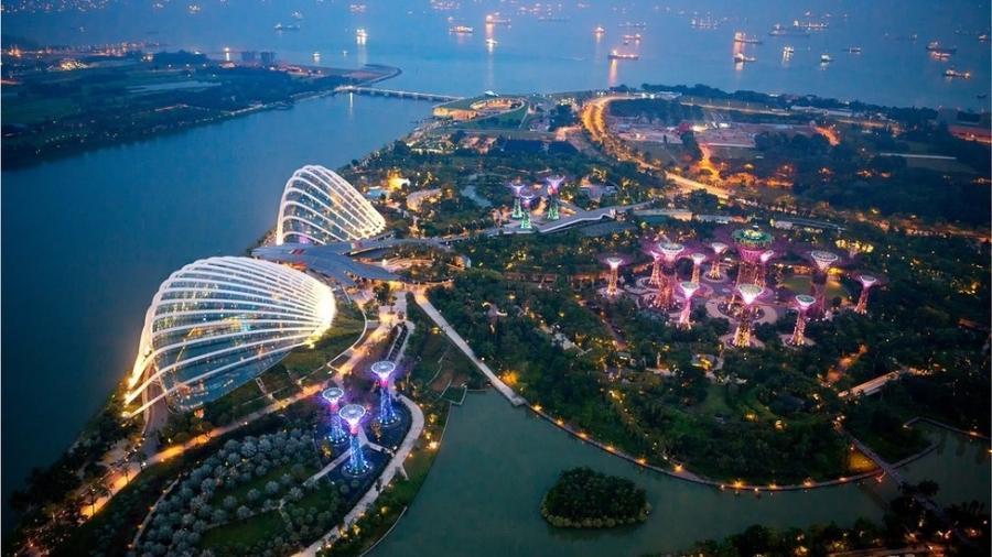 """Conhecida como """"A Peróla da Ásia"""", Cingapura é um dos maiores centros financeiros do mundo - Getty Images"""
