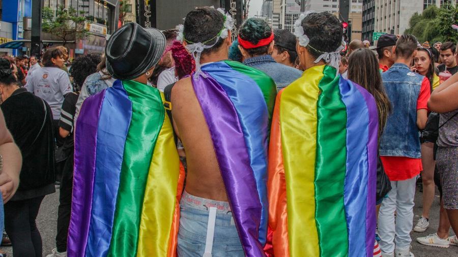 Parada Gay em São paulo em 2018 - Getty Images