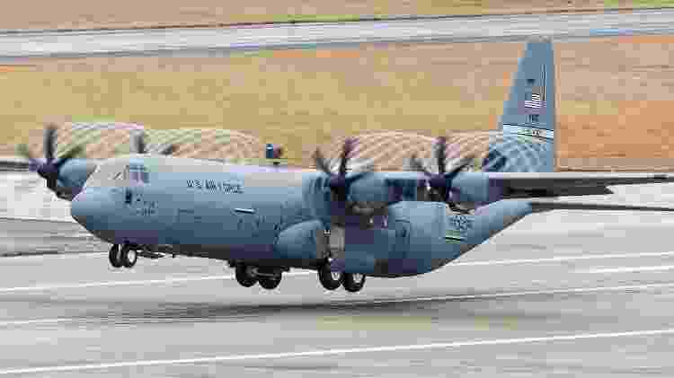 Versão atual do C-130J Super Hercules usada pela Força Aérea dos Estados Unidos - Divulgação/Lockheed Martin - Divulgação/Lockheed Martin
